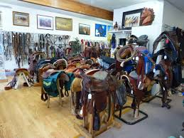 Tack shop and leather goods