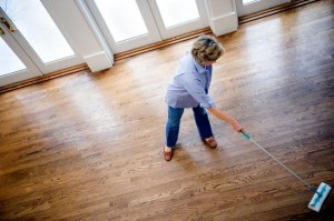 Floor sweeping